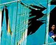 bomb blast window film UK