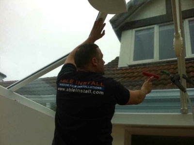 uv film for conservatory roof