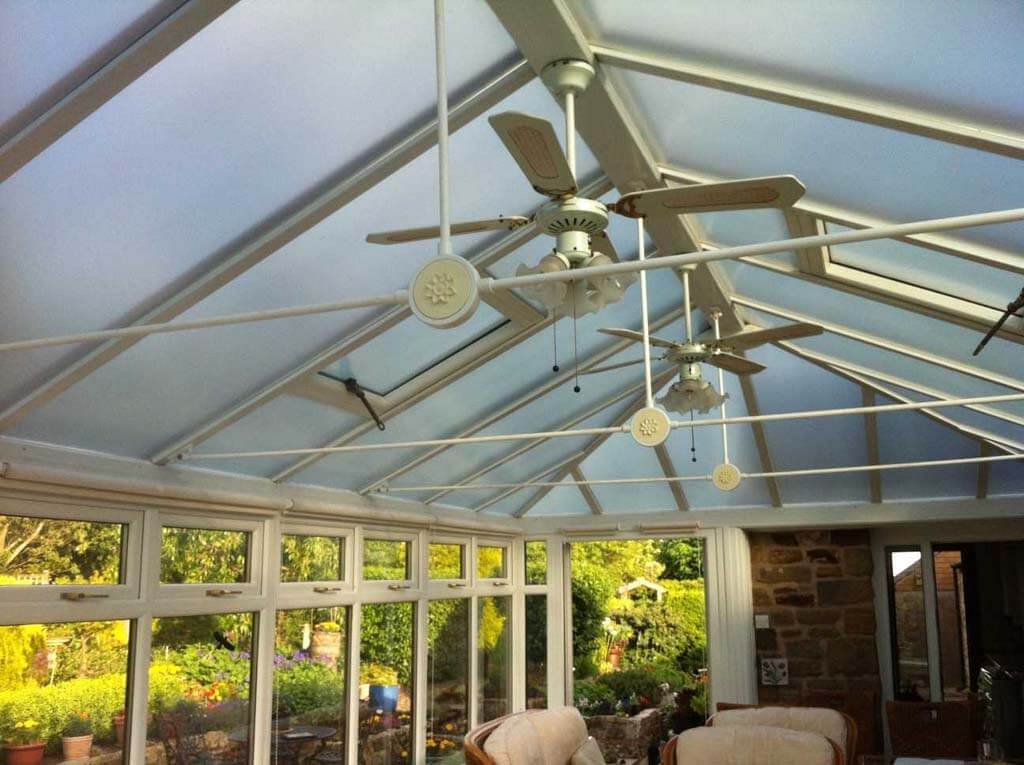 solar film for conservatory roof London
