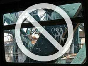 anti graffiti window film UK