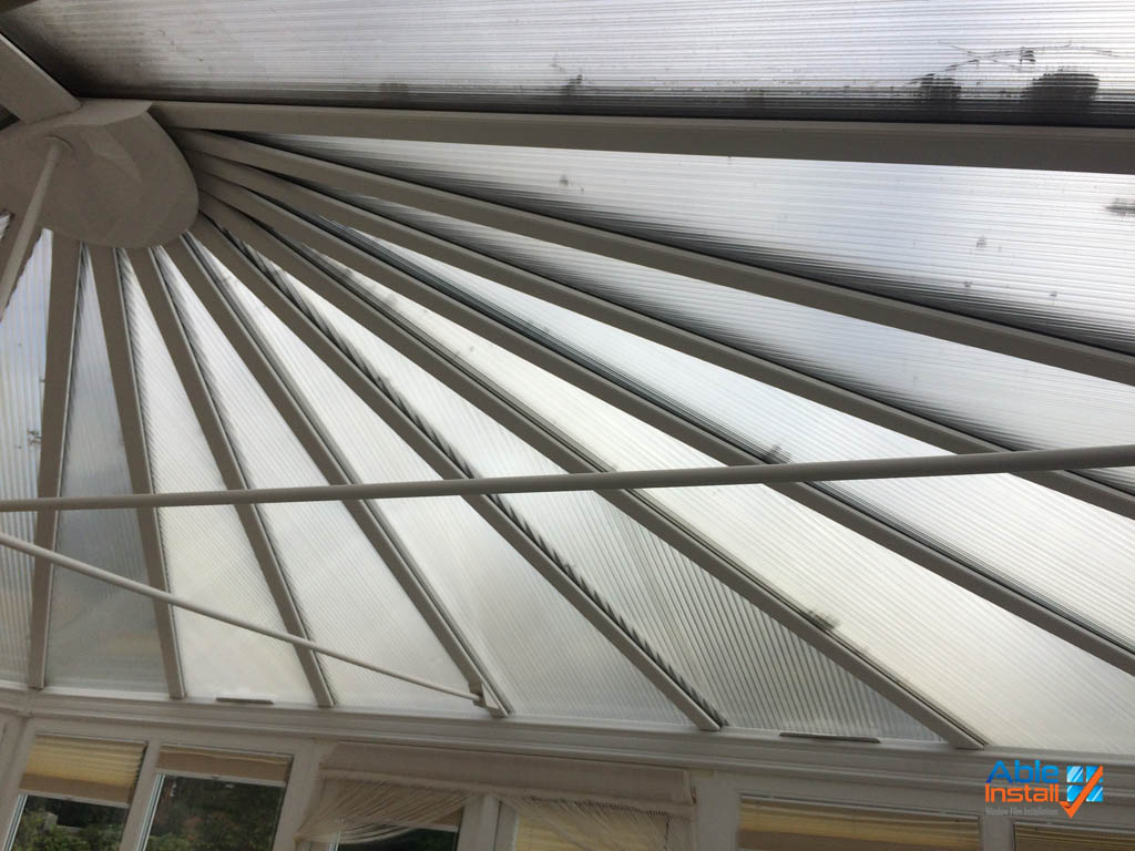 Conservatory With Polycarbonate Roof Able Install