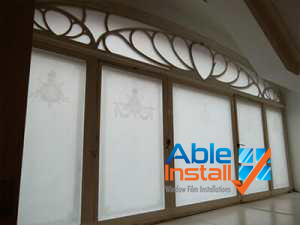 frosted window film UK