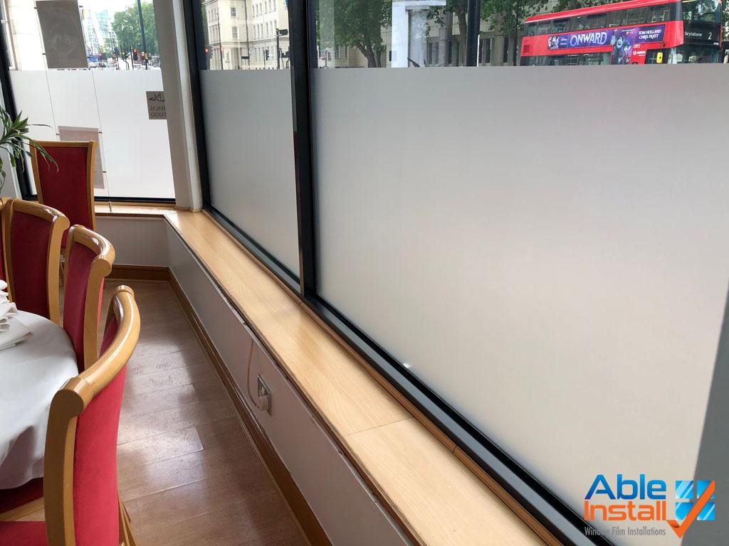 privacy film installation services