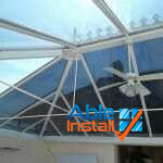 solar film for conservatory roof